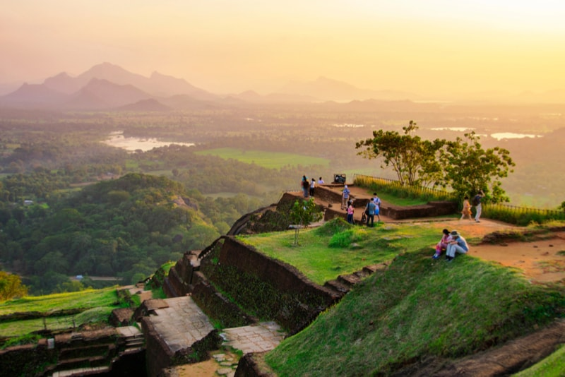 Sigiriya Lion Rock Landscapes - Places to Visit Sri Lanka
