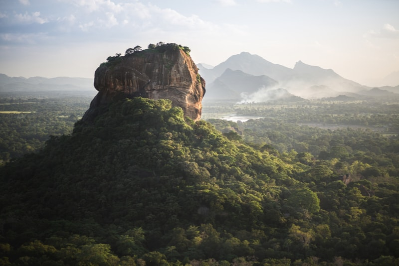 Sigiriya Lion Rock VIew - Places to Visit in Sri Lanka