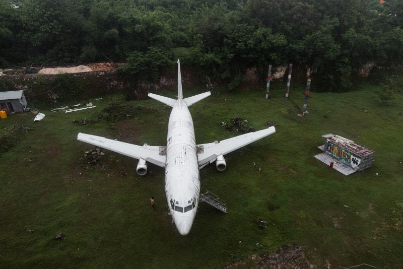 avion abandonné - Choses à faire à Bali