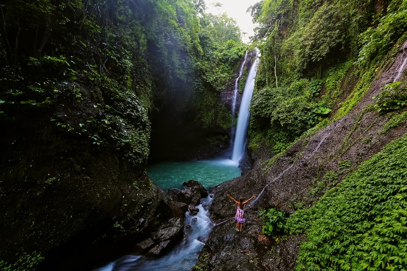 Aling Aling Waterfalls - Fun things to do in Bali
