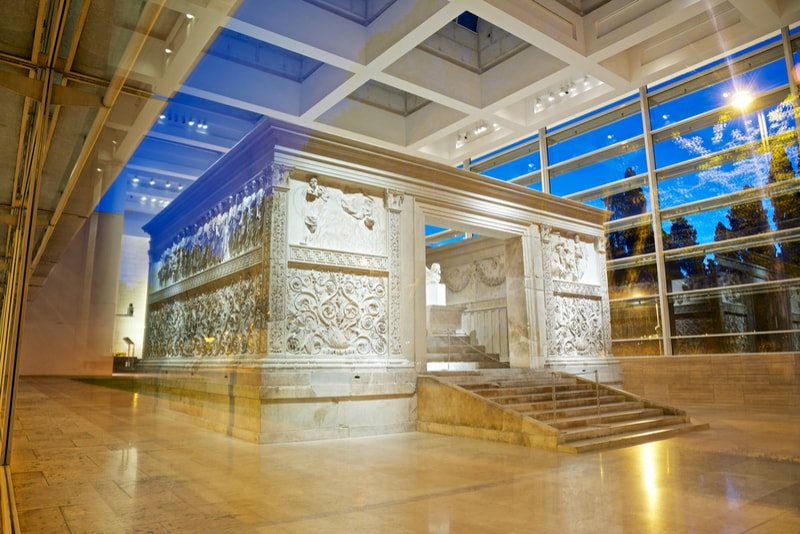 Ara Pacis - places to visit in Rome