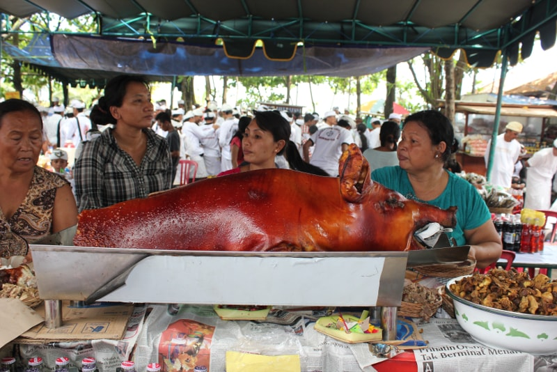 Babi Culling - Fun things to do in Bali