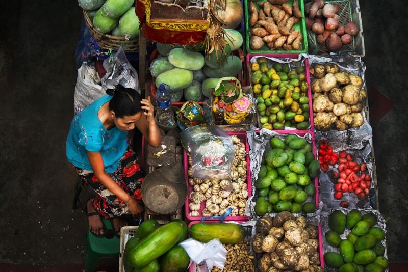 mercado badung - coisas para fazer em bali