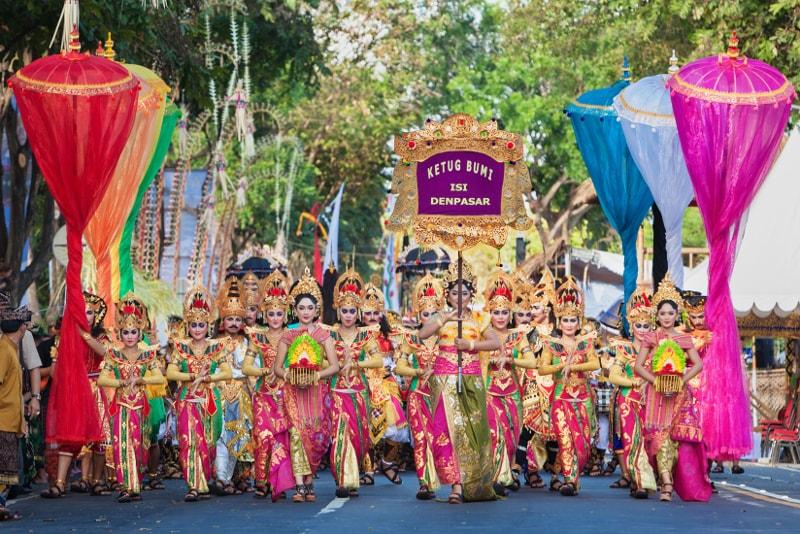 Bali Arts Festival - coisas para fazer em bali