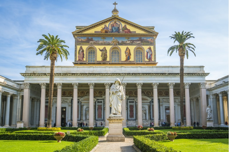 Basilika Saint Paul - Rom Sehenswürdigkeiten