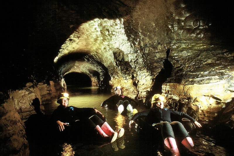 Black-water rafting - Fun things to do in New Zealand