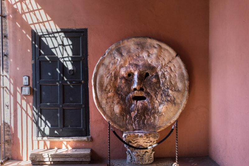 Boca da verdade - Coisas Para Ver em Roma