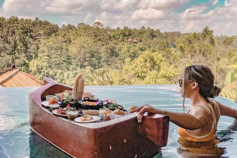 Piscina a sfioro - Cose da fare a Bali