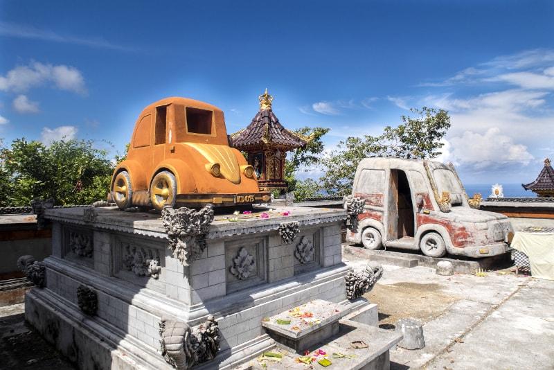 Tempio automobilistico - Cose da fare a Bali
