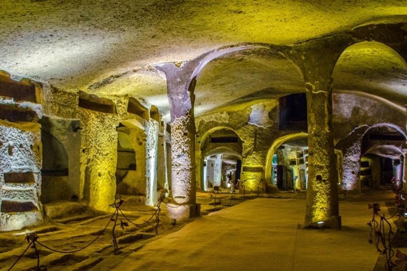 Die Katakomben von San Callisto - Rom Sehenswürdigkeiten