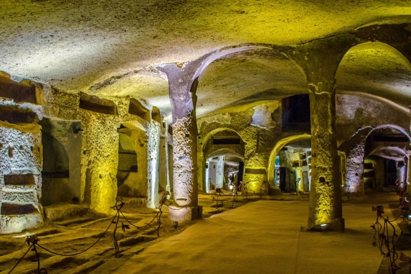San Callisto's Catacombs - places to visit in Rome
