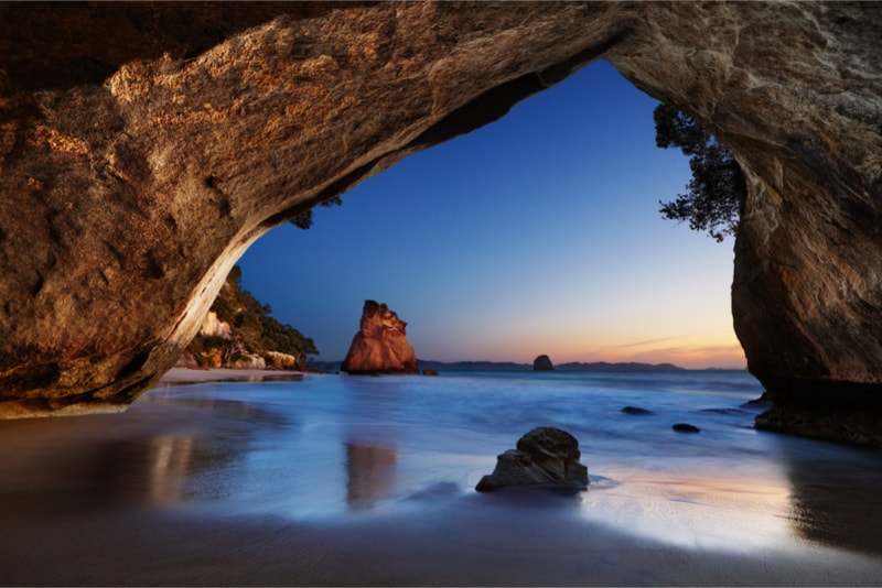 Cathedral Cove - Fun things to do in New Zealand