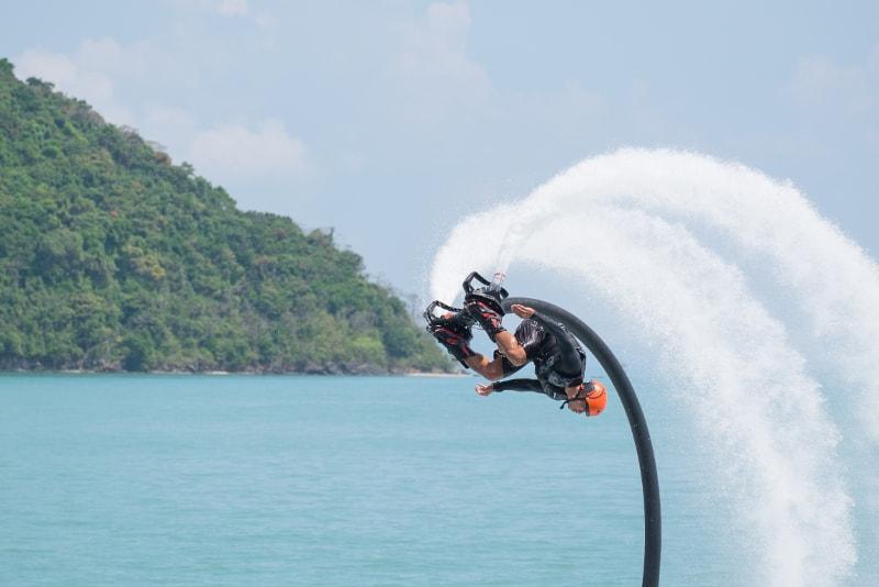 Flyboard - coisas para fazer em bali