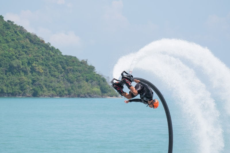 Flyboard - Fun things to do in Bali