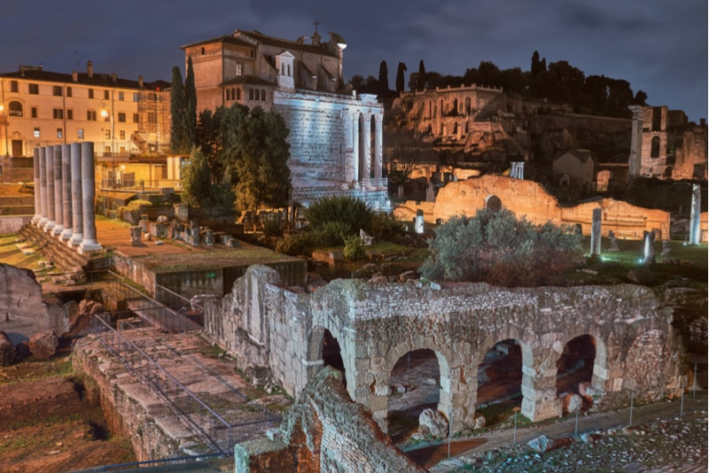 Fóruns Imperiais - Coisas Para Ver em Roma