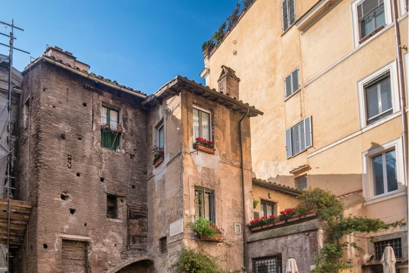 Das jüdische Ghetto - Sehenswürdigkeiten in Rom