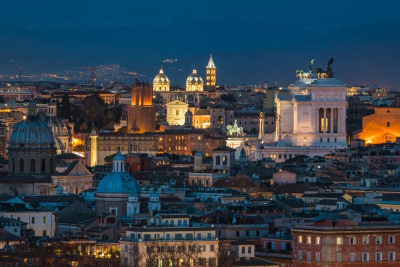 Gianicolo Terrace - Sehenswürdigkeiten in Rom