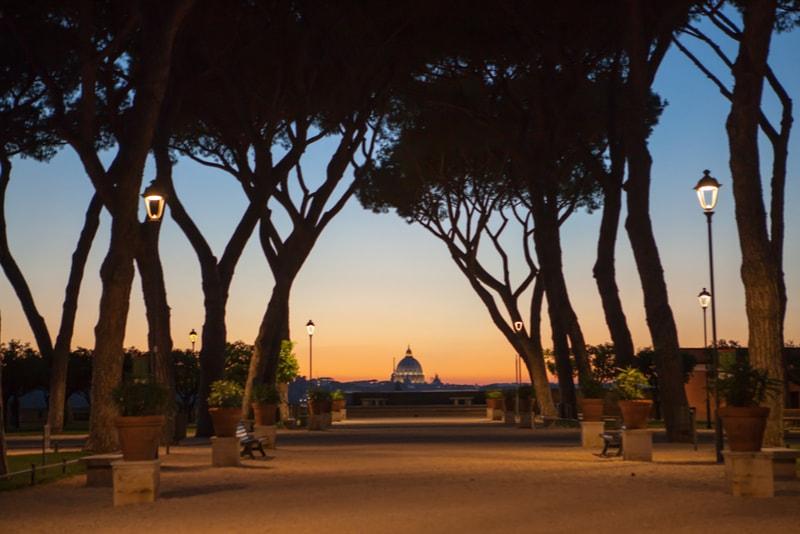 Giardino Degli Aranci - Rom Sehenswürdigkeiten