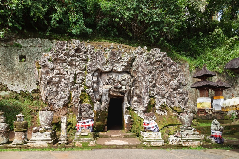 Elephant Cave #29 places to visit in Bali