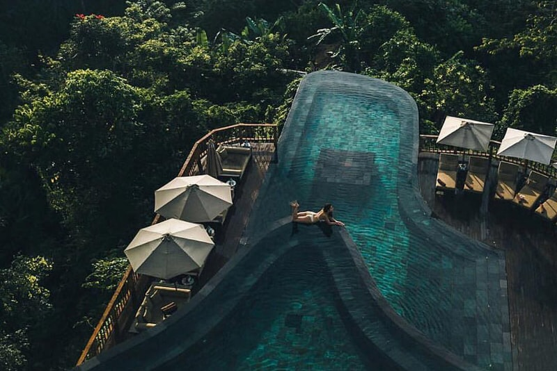 Hanging Gardens - Fun things to do in Bali