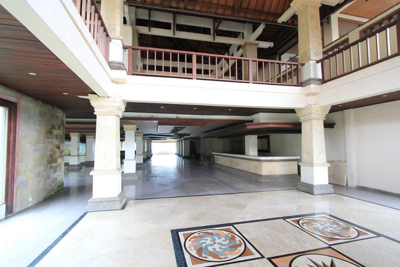 Hotel Bedugul Abandonado - coisas para fazer em bali