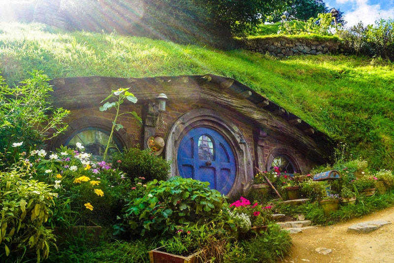Hobbiton Movie Set - what to do in New Zealand