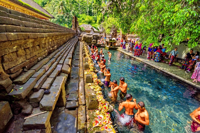 Tirta Empul - Fun things to do in Bali