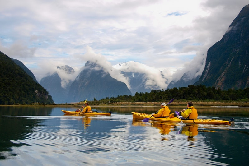 Kayaking - Fun things to do in New Zealand