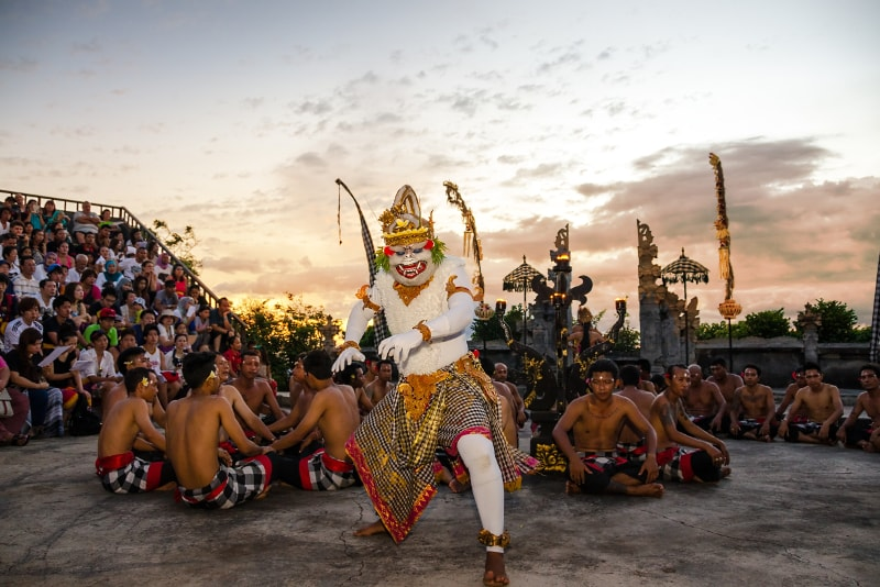 Danse Kecak - Choses à faire à Bali