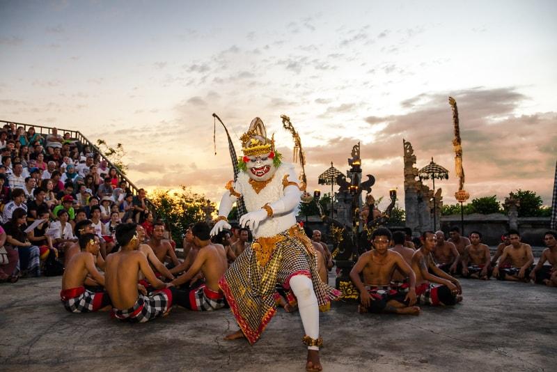 Danse Kecak - Choses à faire à Bali