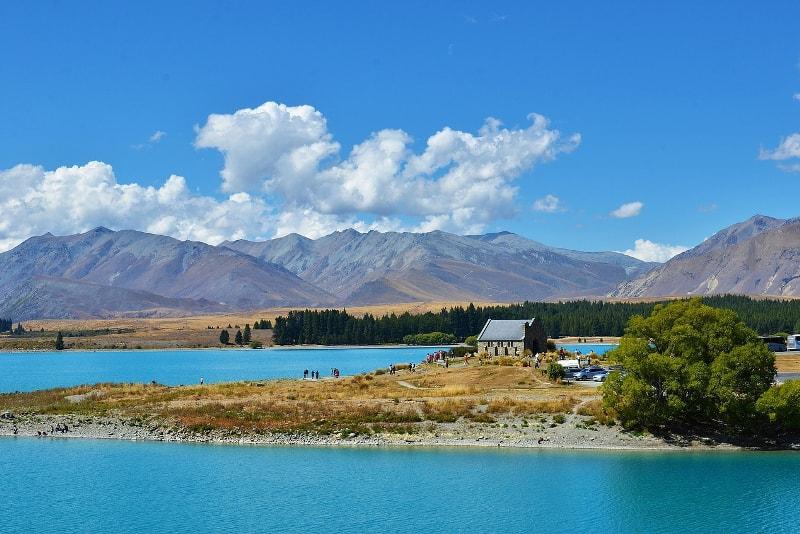 Lake Tekapo - Fun things to do in New Zealand