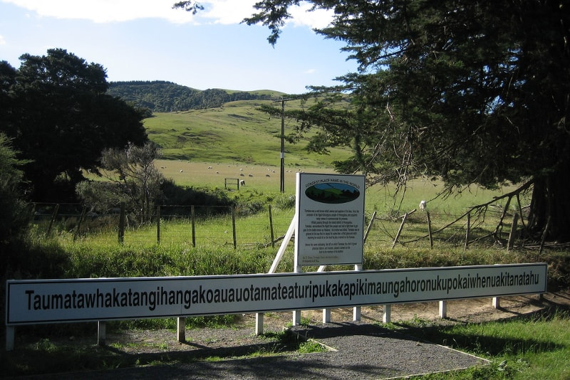 Place of the world's longest name - Fun things to do in New Zealand