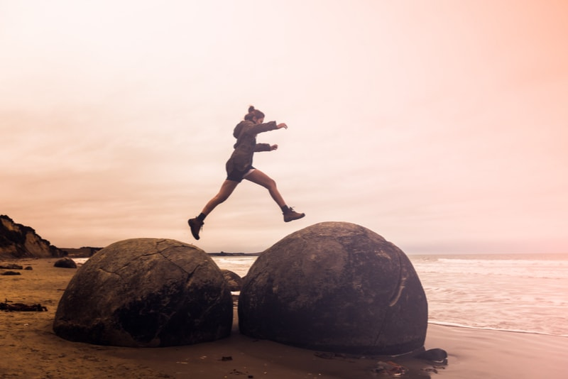 Moeraki Boulders - Fun things to do in New Zealand