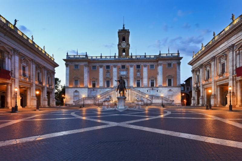 Die Kapitolinischen Museen - Rom Sehenswürdigkeiten