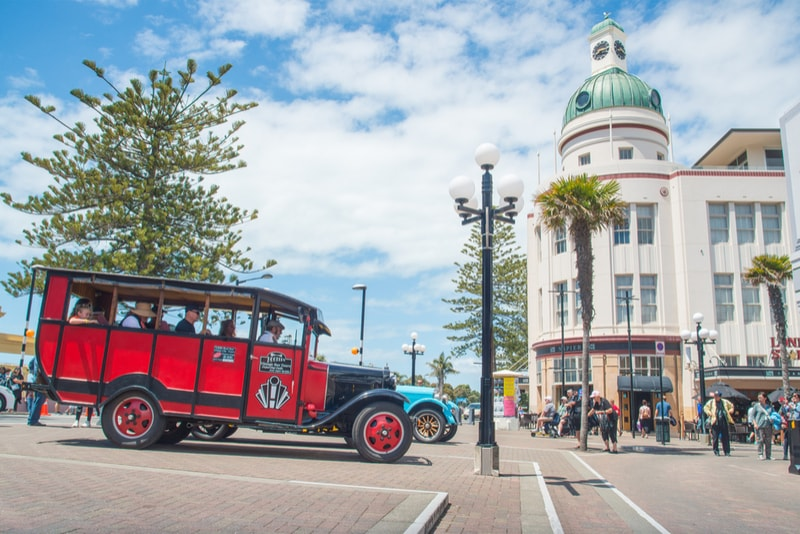 Napier Art Deco city - Fun things to do in New Zealand