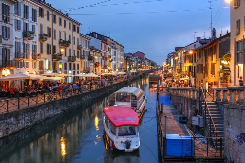 navigli-What to do in Milan