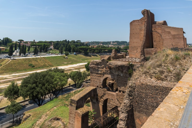 Palatino - places to visit in Rome