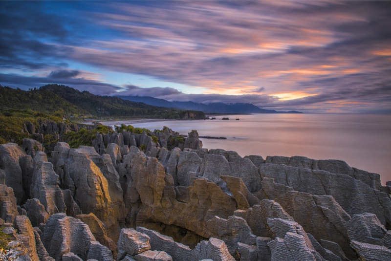 Pancake rocks - what to do in New Zealand