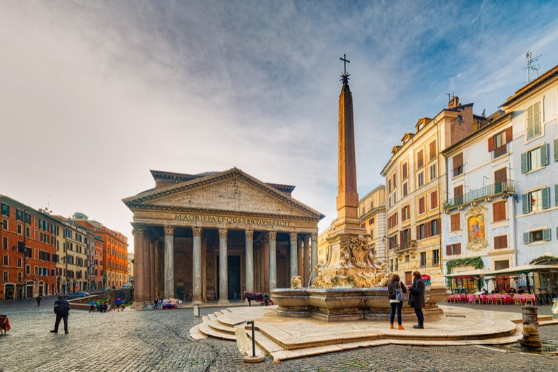 The Pantheon - places to visit in Rome
