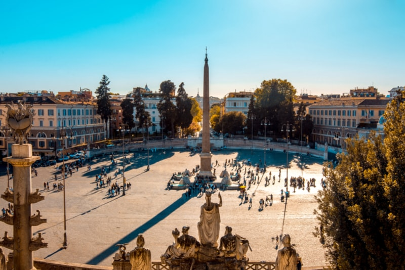 Piazza del Popolo - Sehenswürdigkeiten in Rom