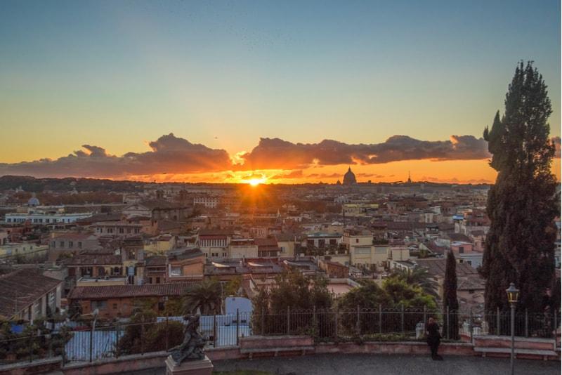 Pincio - Sehenswürdigkeiten in Rom