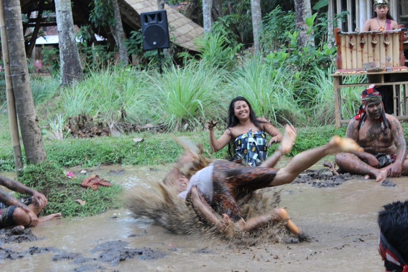 Play in the Mud - Fun things to do in Bali