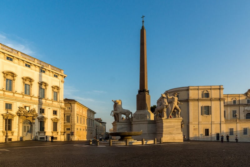 Quirinale Palace - places to visit in Rome