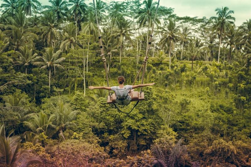 Rope Swing - Fun things to do in Bali