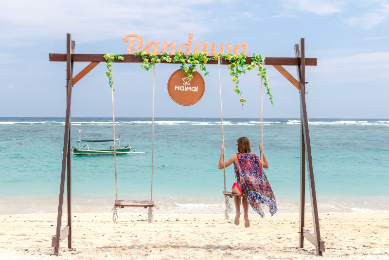 Rope Swing Sea Bali - Fun things to do in Bali