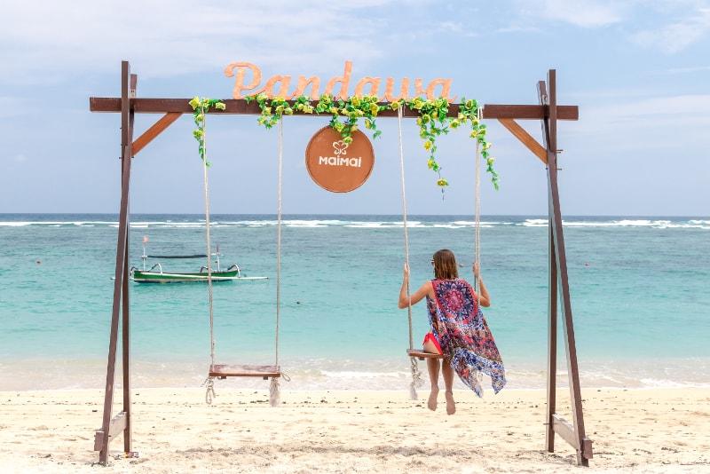 Rope Swing Sea Bali - Fun things to do in Bali