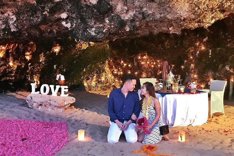 Samabe Cave Dinning - Choses à faire à Bali