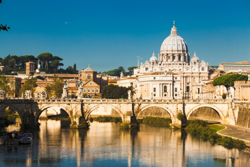 San Peter's Basilica - places to visit in Rome