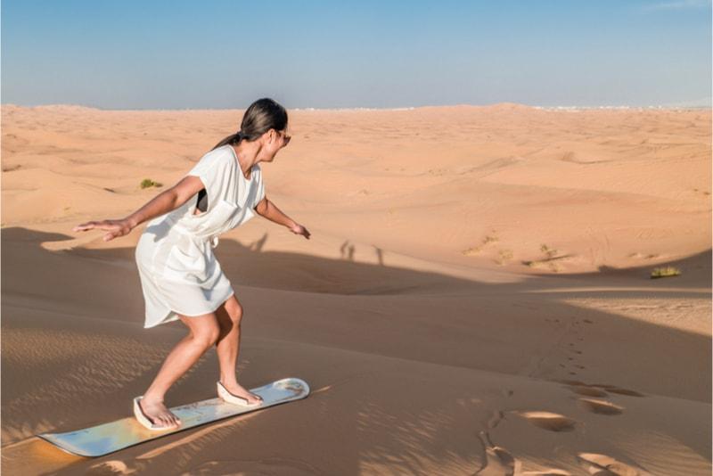 Sandboarding - Fun things to do in New Zealand