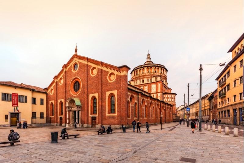 santa maria delle grazie-What to do in Milan
